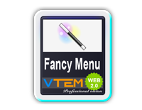 Vtem Fancy Menu - обзор модуля для Joomla